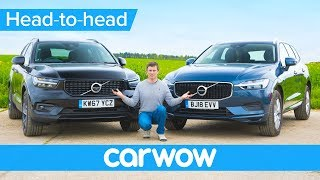 Volvo XC40 vs XC60 review - which is the better buy? | Head-to-Head