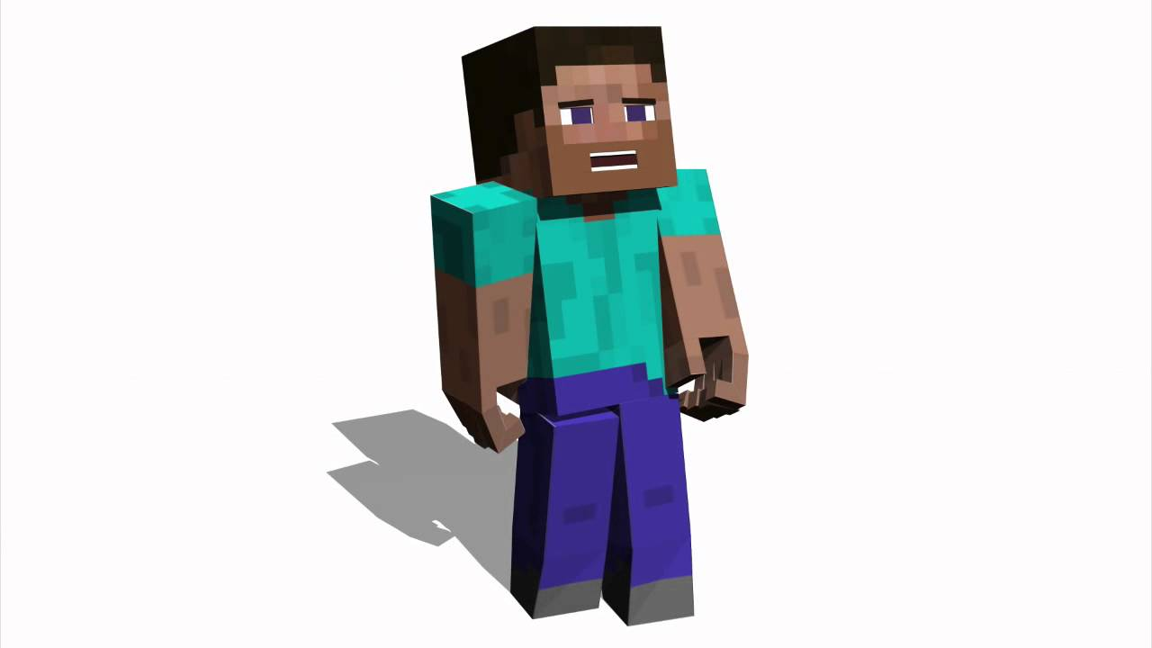 Dancing Steve Minecraft Test Animation Youtube