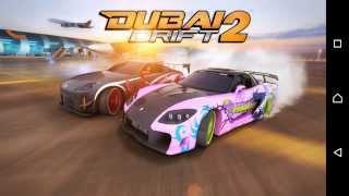 Dubai drift2 -Drift war android game play and UI