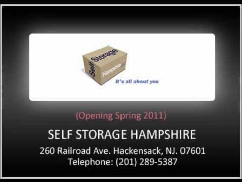 Self Storage Hampshire   260 Railroad Ave. Hackensack, NJ.