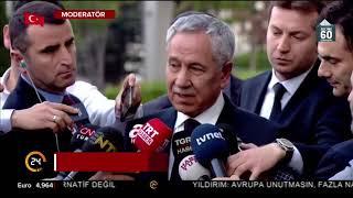 Bülent Arınç: AK Parti'ye zarar verecek hareketlerin içinde olmam
