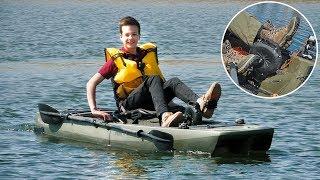 Човен для риболовлі з ПЕДАЛЬНИМ МОТОРОМ! Глебус тестує каяк Point 65 KingFisher