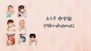 【韓繁中字+認聲】BTS (방탄소년단/防彈少年團) _ 소우주 (Mikrokosmos/小宇宙)