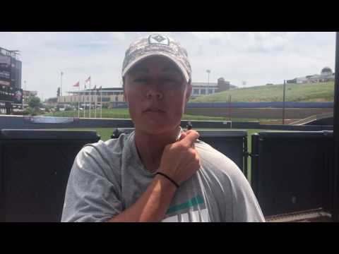 Coach Kristy Norton Postgame Interview: Ohio (May 18, 2017)