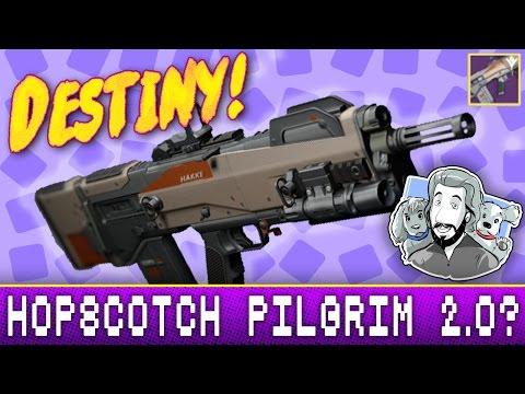 Hakke Herja-D Legendary Pulse Rifle - Review Gameplay | Destiny (The Taken King)