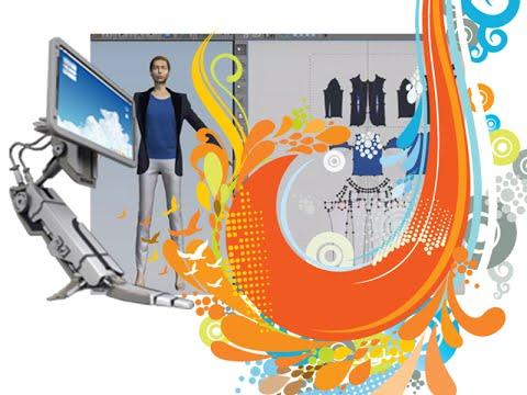 Üç boyutlu moda tasarım, 3 boyutlu stilistlik, bilgisayarlı stilistlik, Marvelous kursu. ders/1