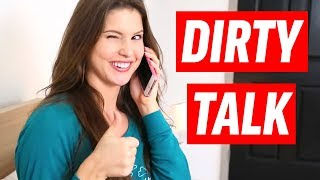 DIRTY TALK ft. Amanda Cerny & Lele Pons | Awkward Couple Relat…