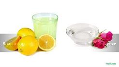 hqdefault - Rosewater Lemon Juice Acne