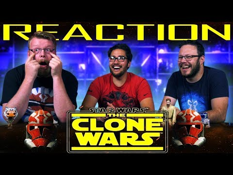 Star Wars: The Clone Wars Official Trailer REACTION!! #CloneWarsSaved