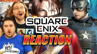 DOODS REACT: Avengers Reveal & Final Fantasy VIII Remaster
