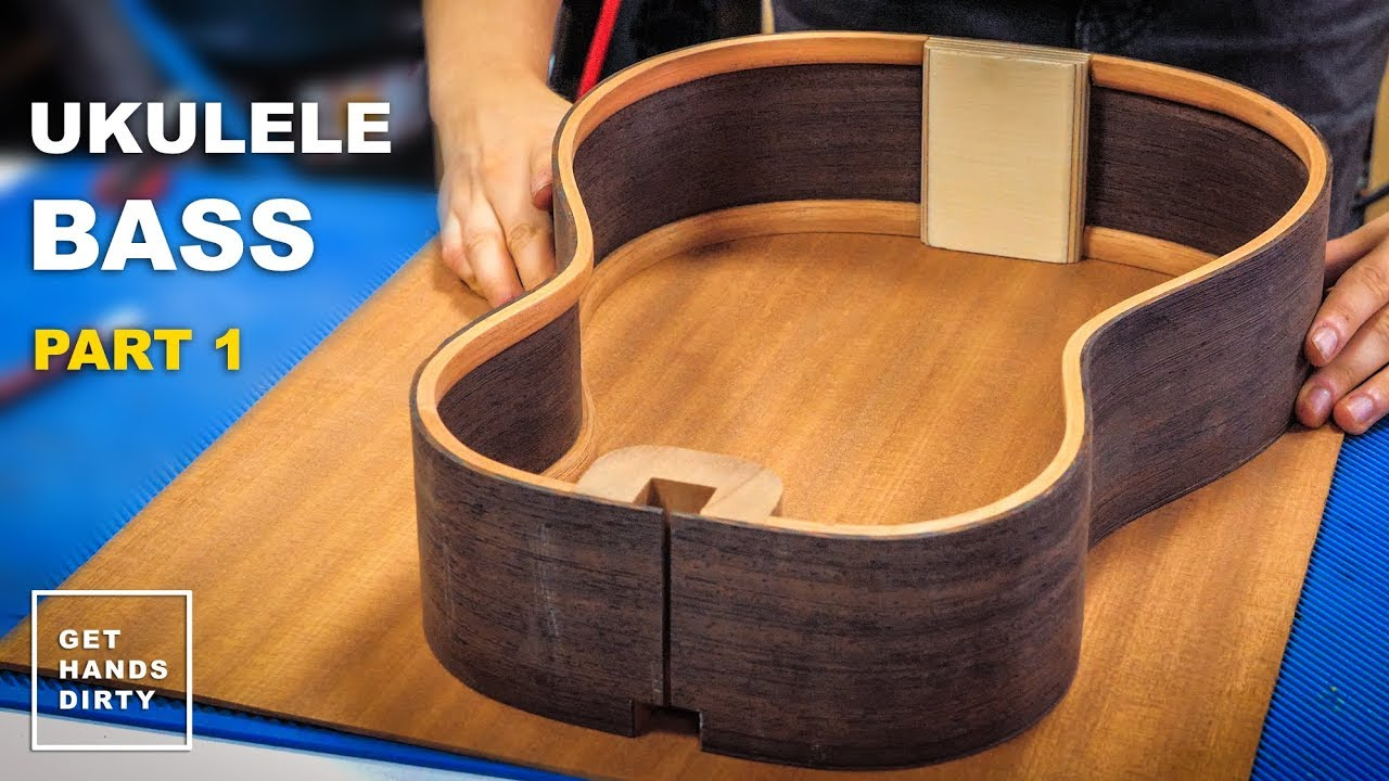 7997c30cc4 How to Build a Ukulele Bass // Sides, Linings, End and Neck Blocks - Ep.1