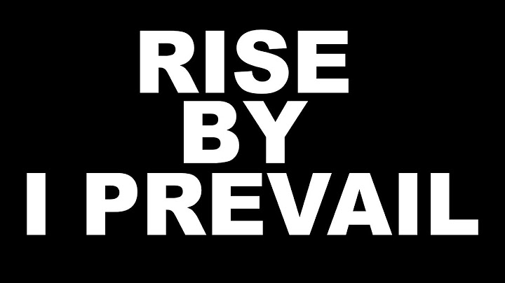 rise  i prevail  lyrics