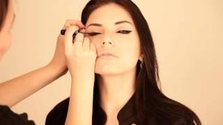 Кошачий взгляд. Make up by Vitta Kismatova