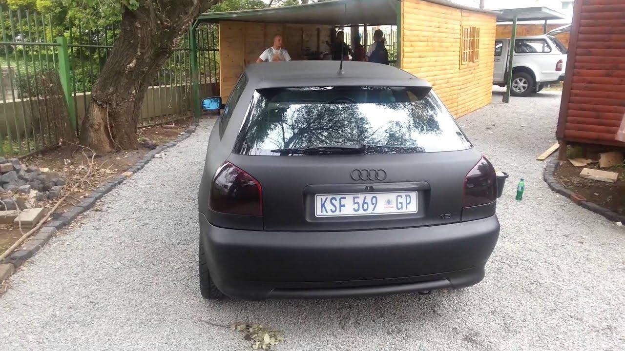 A3 Audi Matt Black Youtube