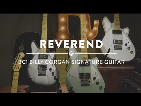 The new Reverend BC1 Billy Corgan signature guitar captures the wide array of tones the Smashing Pumpkins mastermind has crafted and traded on for years. Cor...