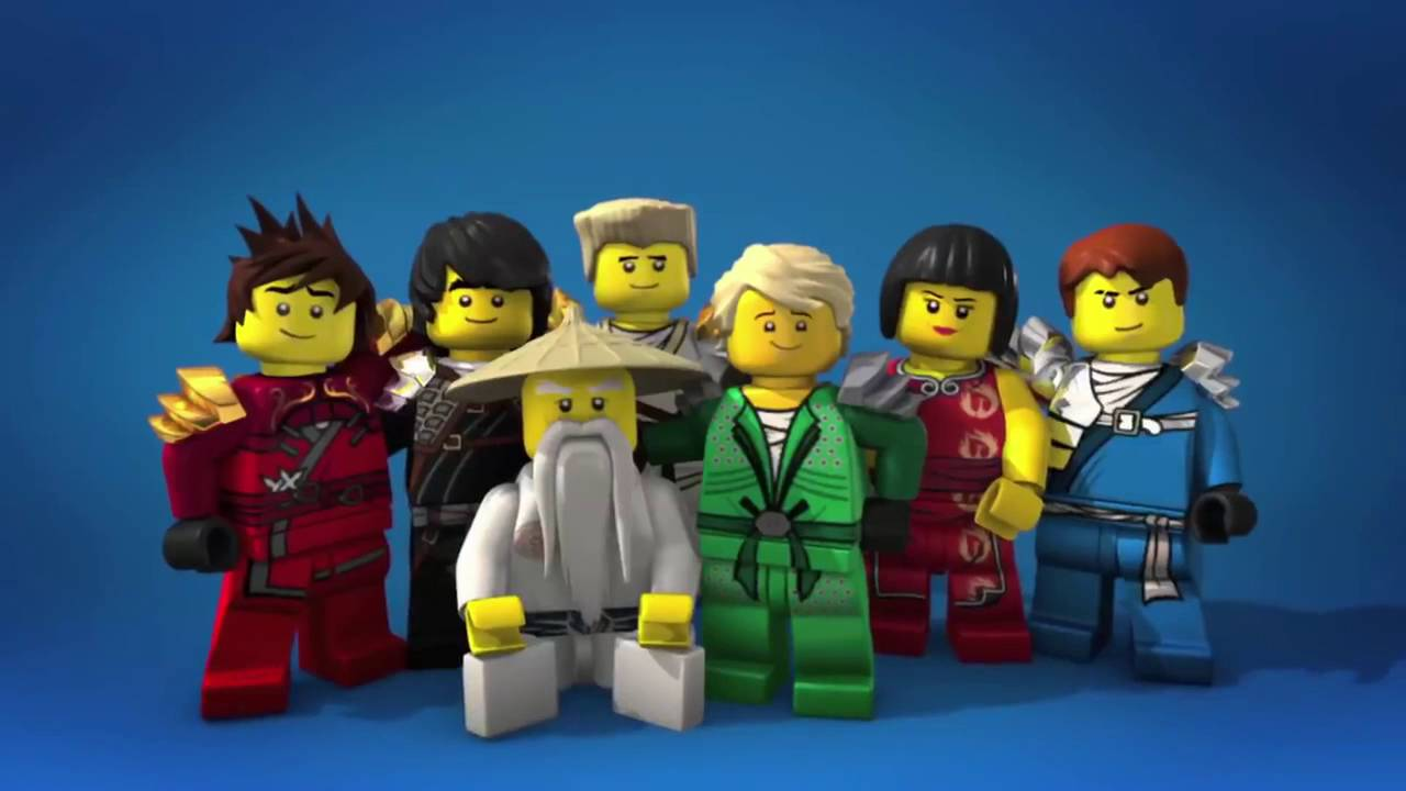 It's just a graphic of Modest Pictures of Ninjago Characters