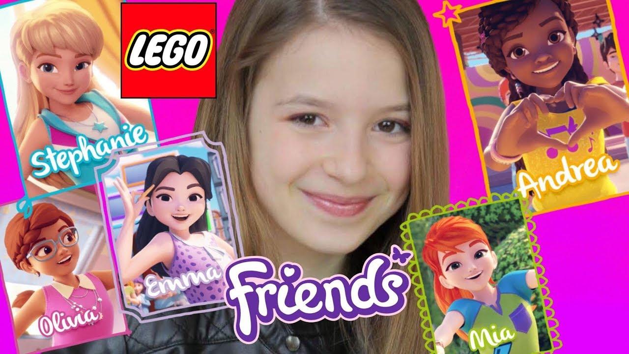 Une aventure KART LEGO FRIENDS avec moi ! Lévanah&Family