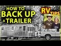 camping and towing a trailer
