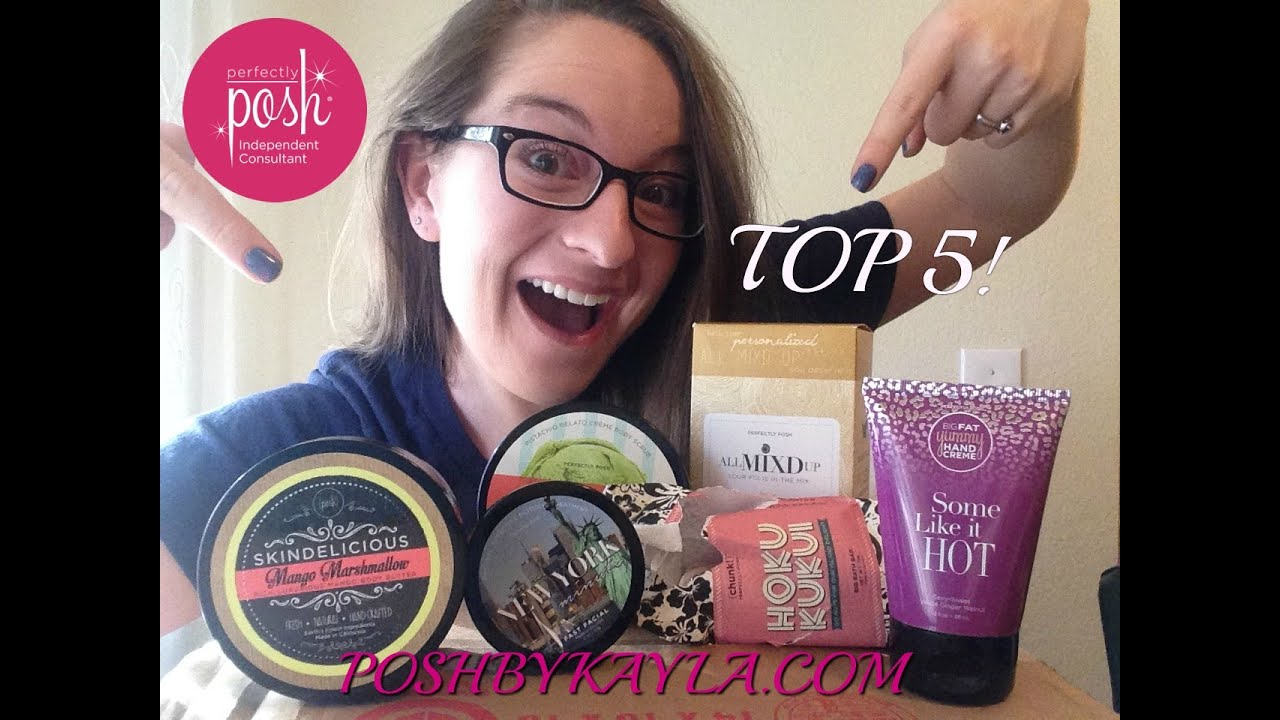 My Top Five Perfectly Posh Products Youtube