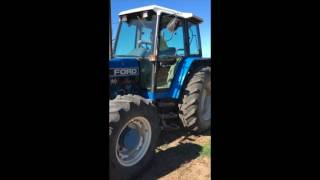 1998 FORD 6640 POWERSTAR & SLASHER FOR SALE