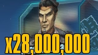 Handsome Jack says Corrosion 28 Million Times