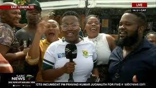 Springboks wrap up East London victory tour