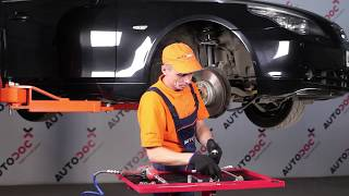 Wie BMW 5 (E60) Pendelstütze auswechseln - Tutorial
