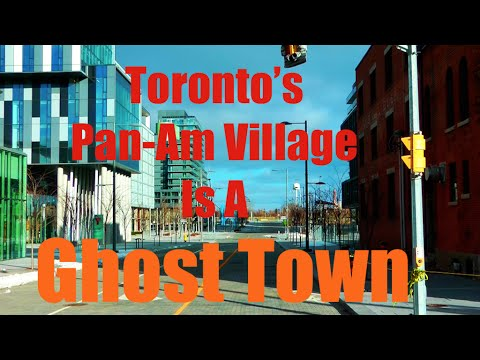 Toronto's Pan-Am District Is A Ghost Town
