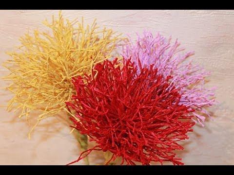 Букет из конфет - Игольчатая Хризантема