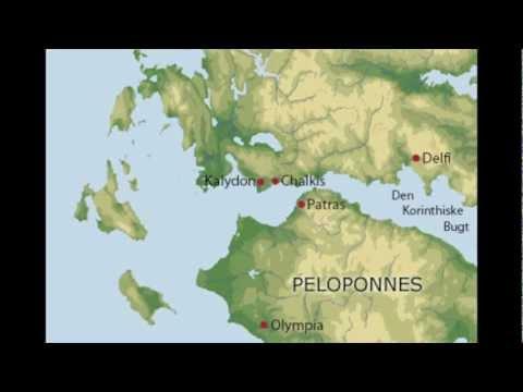 De danske udgravninger i Chalkis og Kalydon
