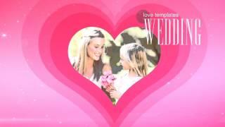 Скачать Свадебный футаж для After Effects Начало свадебного фильма футаж футажи для свадьбы