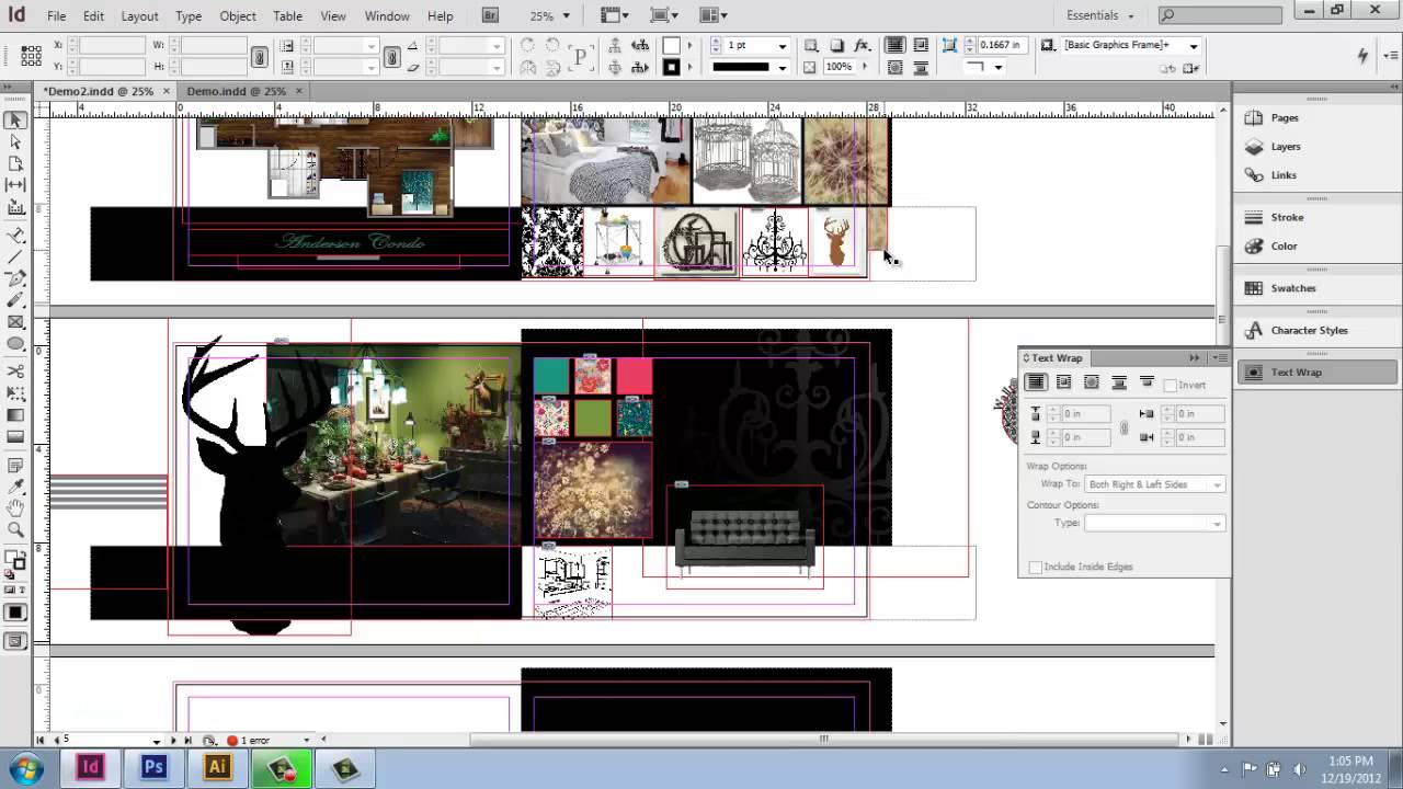 adobe indesign cs6 interior design portfolio part 11 ForIndesign Interior