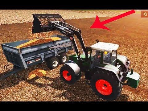 tractor supply - Loading a Potato - Farming Simulator - New Tractor