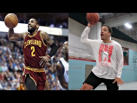 RECREATING THE BEST BASKETBALL NBA LAYUPS IN HISTORY!! (KYRIE IRVING, STEPH CURRY & MORE)