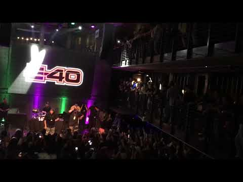 E-40 at Music Box in San Diego