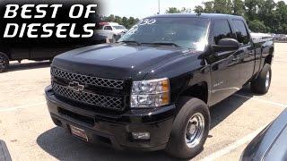 Diesel Trucks GONE WILD - Top 5 FAST Diesels We Filmed in 2016!