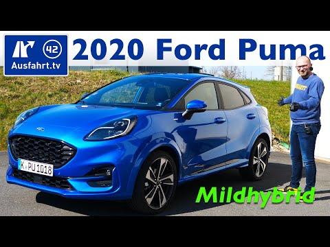 2020 Ford Puma 1.0l EcoBoost Hybrid ST-Line X MHEV - Kaufberatung, Test Deutsch, Review, Fahrbericht