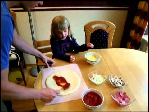 Pizzateig Rund