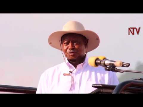 President warns Agago locals against drug and alcohol abuse