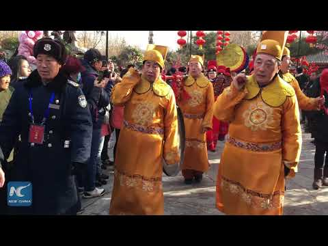 Celebrating Chinese New Year at Red Chamber Temple Fair