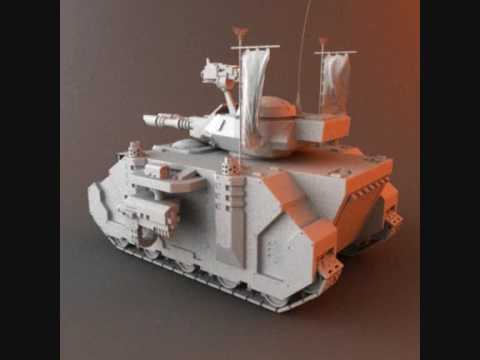 3D Model of W40k Predator Tank for sale at TurboSquid