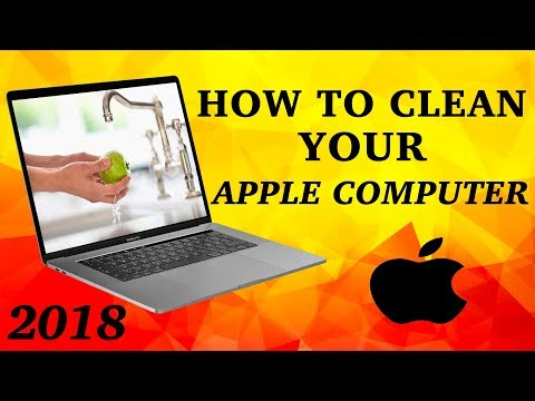 How To Clean Your Apple Computer (Macbook and iMac) - 2018