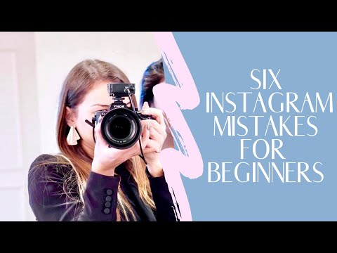 6 INSTAGRAM MISTAKES TO AVOID -  How to build your audience in a TRUE, AUTHENTIC Way
