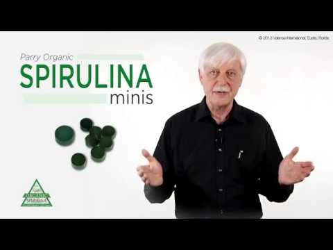 Parry Organic Spirulina: THE Organic Green Superfood