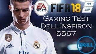 Dell Inspiron 5567 Gaming Test - FIFA 18 (Radeon R7 + Core i7)
