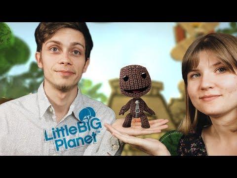 Я і Лєра досліджуємо всесвіт  ► Little Big Planet (запис стріму)