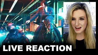 John Wick 3 Trailer REACTION