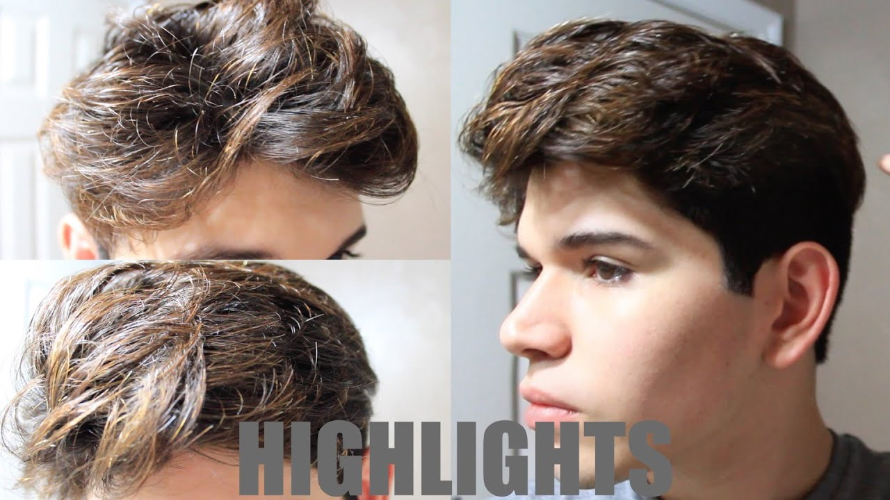 Diy Mens Hair Highlights Youtube