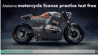 Alabama motorcycle license practice test free
