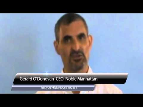 Noble Manhattan CEO Gerard O'Donovan